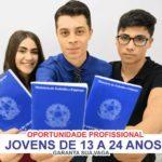 SELEÇÃO DE APRENDIZ de 13 a 24 anos CADASTRO DE CURRÍCULOS para Menor/Jovem Aprendiz e Estágio da Agência de Empregos