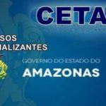 (CETAM),abre inscrições gratuitas para novos cursosprofissionalizantes  em Manaus