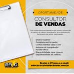 Raio rastreadores de veículos Contrata; Consultor de Vendas