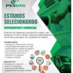 PEXLOG Empresa de transporte rodoviário de cargas contrata; Representante comercial