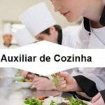 Empresa de Grande Porte está selecionando para o cargo; Auxiliares de cozinha (restaurante)